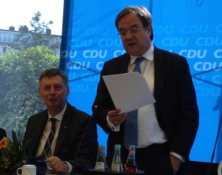 Sitzung des CDU-Landesvorstands NRW in Düsseldorf