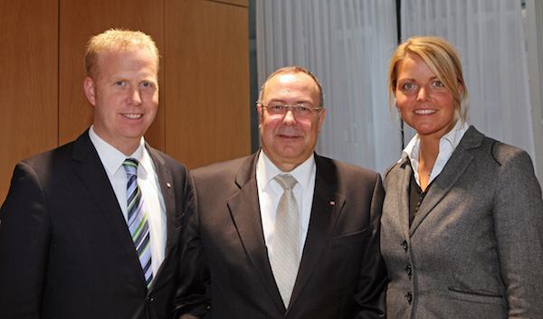 Henning Rehbaum MdL ,Rainer Latsch (Bahn AG), Christina Schulze Föcking MdL
